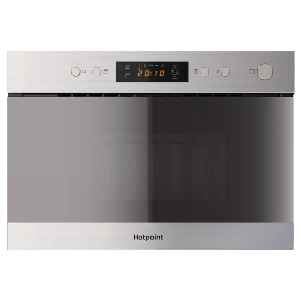 Hotpoint MN314IXH Built In Microwave With Grill in Stainless Steel