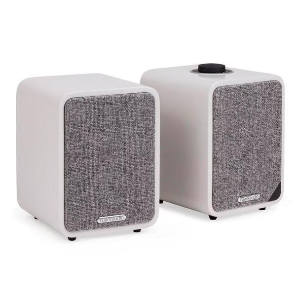 Image of MR1 Mk2 Bluetooth Speaker System - Soft Grey Lacquer