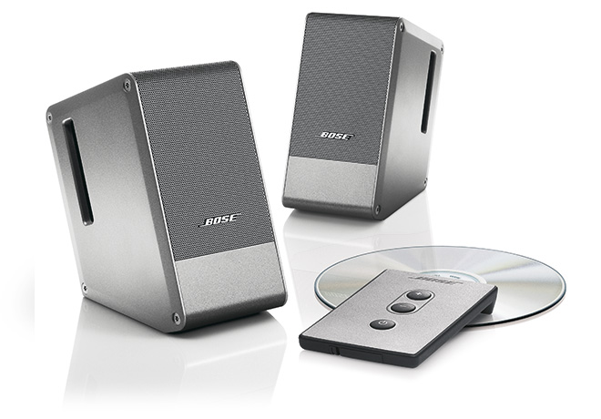Bose® Computer MusicMonitor® Speakers in Silver