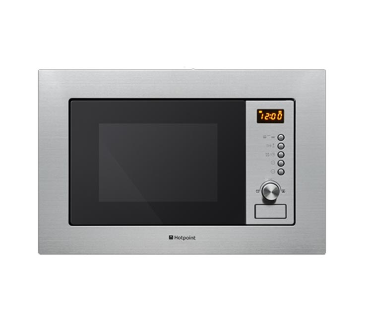 Hotpoint MWH122.IX Integrated Microwave in Stainless Steel