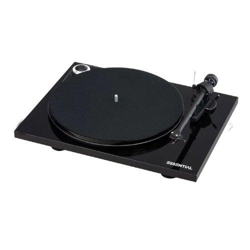 Project Essential III turntable In Black Main