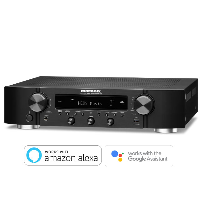 Marantz NR1200 Slim Stereo Network Receiver with HEOS Built-in Black