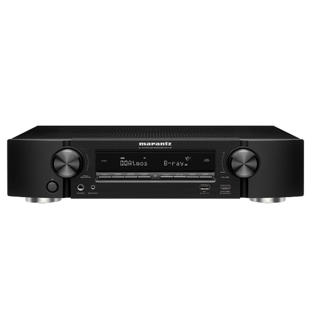 Marantz NR1509 Slim 5.2 Channel AV Receiver in Black