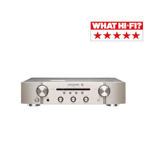 Marantz PM6006 UK Edition Integrated Amplifier in Silver
