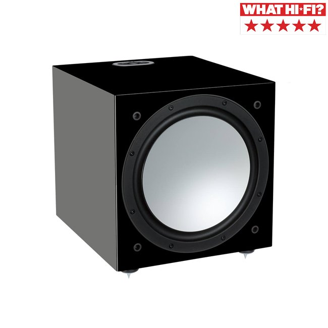 Monitor Audio Silver W-12 Subwoofer Gloss Black