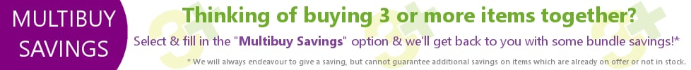 Buy 3 or more items together to qualify for a multibuy saving
