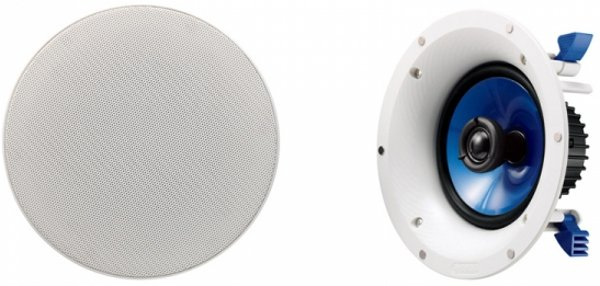 Yamaha NSIC600 InCeiling Speakers in White (Pair)