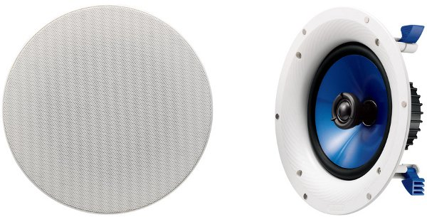 Yamaha NSIC800 InCeiling Speakers in White (Pair)