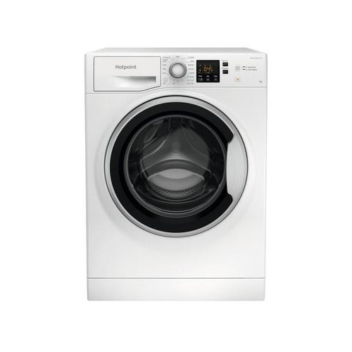 Image of Hotpoint NSWE963CWSUKN 9kg 1600 Spin Washing Machine with Anti-Stain White