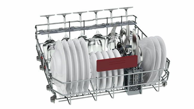 Neff S513M60X1G Energy Efficient Dishwasher 60cm Fully Integrated Side Rack