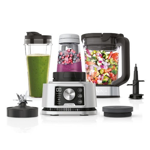 Image of CB350UK 3-in-1 Foodi Power Nutri Blender with Auto-iQ   Silver