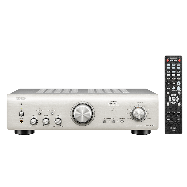 Denon PMA800NESPE2GB Integrated Amplifier in Silver