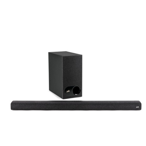 Polk Signa S3 Universal TV Soundbar and Wireless Subwoofer System with Chromecast Built-in