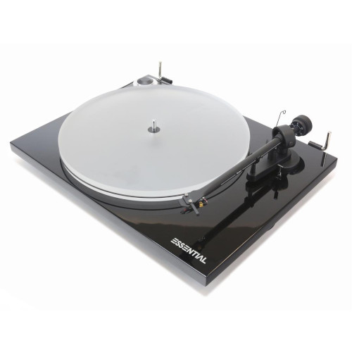 Pro ject Essential III A turntable In Black
