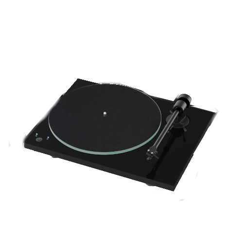Project T1 SB Turntable Built-In Speed Control In Black