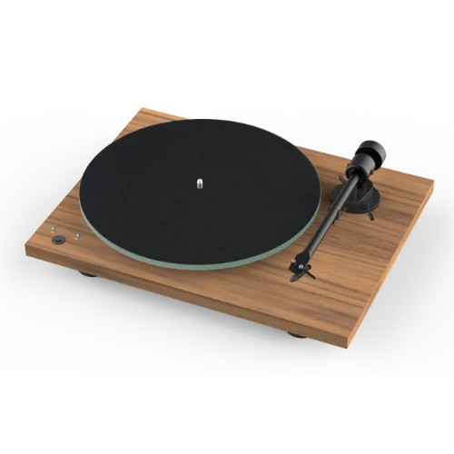 Pro ject T1 SB Turntable Built-In Speed Control In Walnut