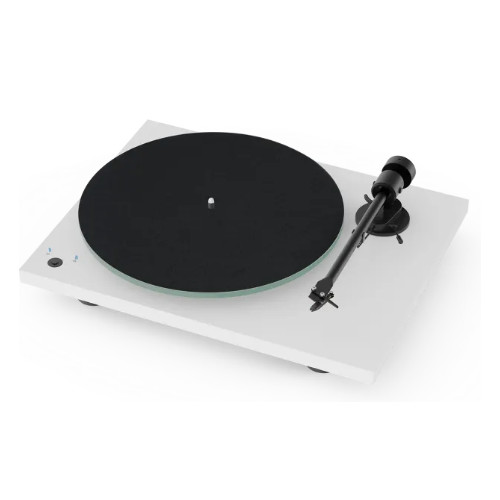 Pro ject T1 SB Turntable Built-In Speed Control In White