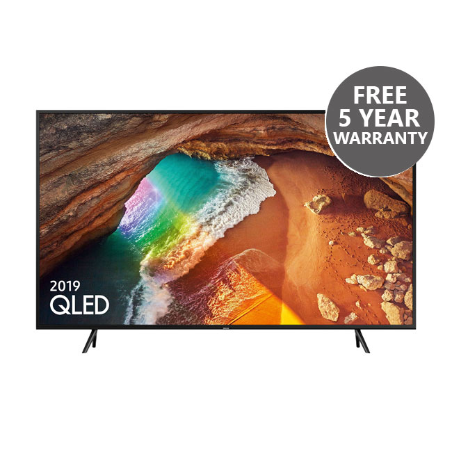 Samsung QE49Q60RATXXU 49 Inch Q60R QLED 4K Quantum HDR Smart TV with Bixby
