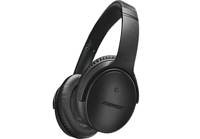 Bose® QuietComfort® 25 Acoustic Noise Cancelling® Headphones for Selected Apple Devices  Triple Black Special Edition