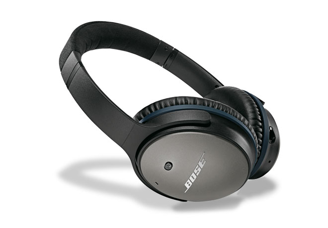 Bose® QuietComfort® 25 Acoustic Noise Cancelling® Headphones in Black for Selected Apple Devices