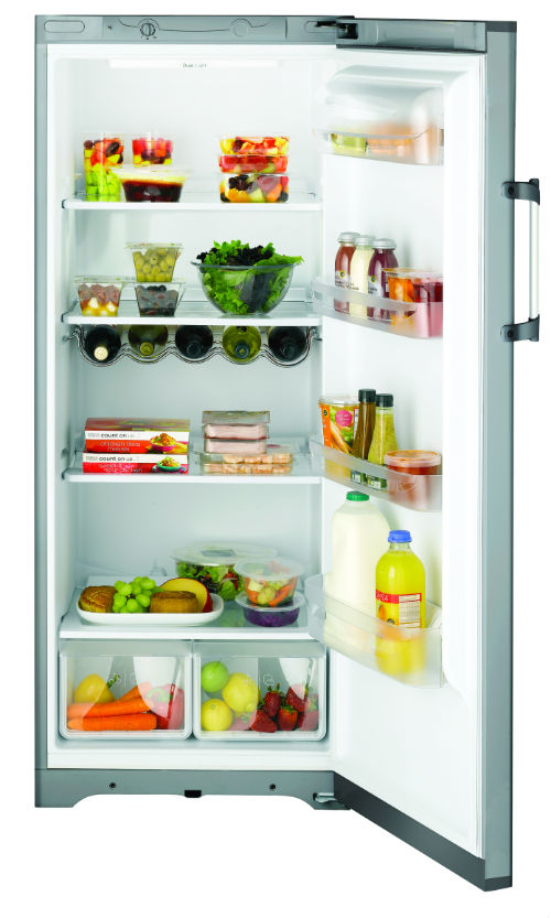 Image of Hotpoint RLFM151G 60cm Wide Over Counter Fridge in Graphite