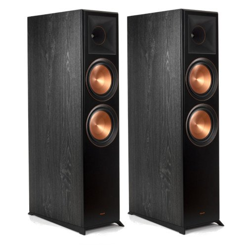 Klipsch RP-8060FA Floorstanding Speakers Pair with Dolby Atmos Integration Ebony