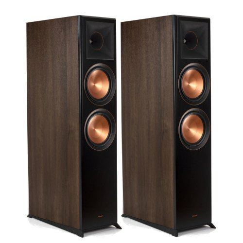 Klipsch RP-8060FA Floorstanding Speakers Pair with Dolby Atmos Integration Walnut