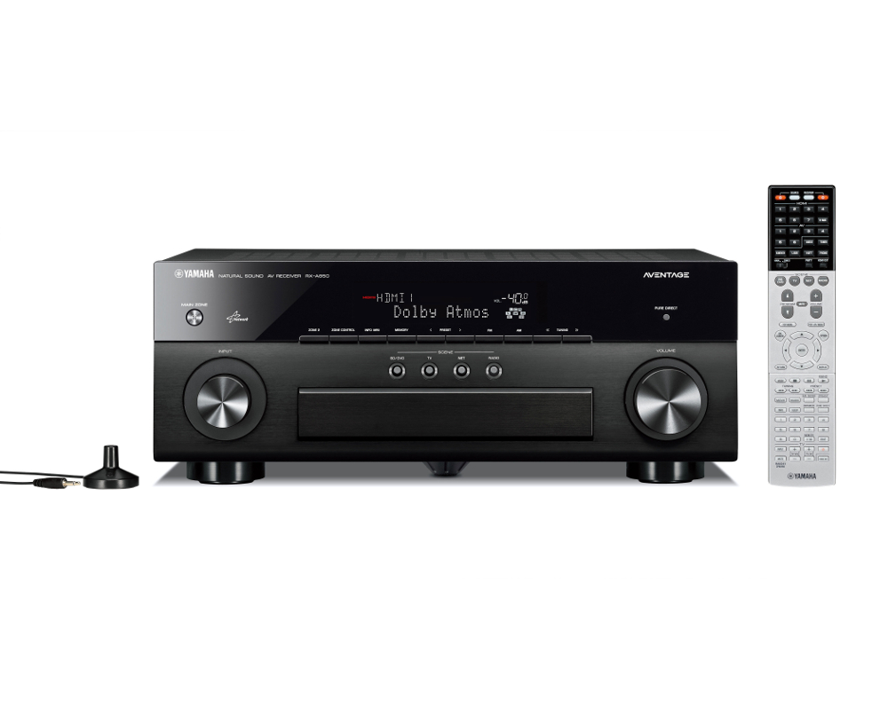 Yamaha RXA850 AVENTAGE 7.2 Channel Network AV Receiver in Black with WiFi and Bluetooth Built In