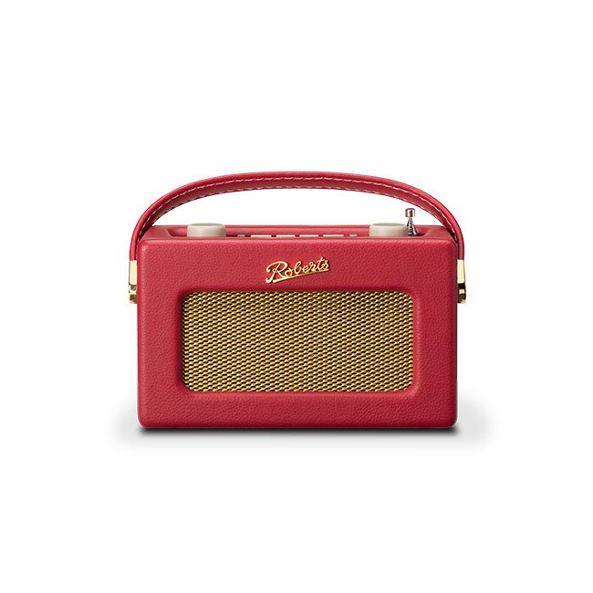 Roberts REVIVAL UNO DAB DAB+ FM Digital Radio with Alarm Berry Red