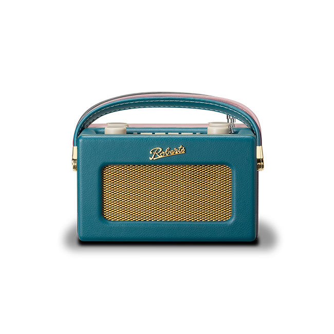 Roberts REVIVAL UNO DAB DAB+ FM Digital Radio with Alarm Teal Blue