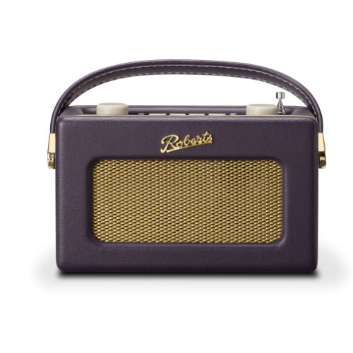 Roberts REVIVAL UNO DAB DAB+ FM Digital Radio with Alarm Mulberry Purple