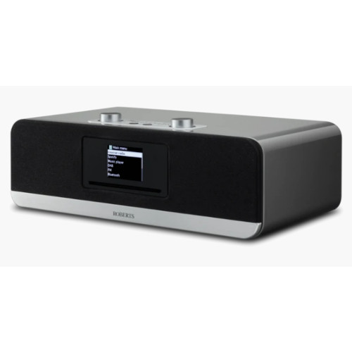 Image of Roberts Stream 67 DAB+ FM Internet Radio Wi-Fi Bluetooth All-In-One Smart Music System Silver
