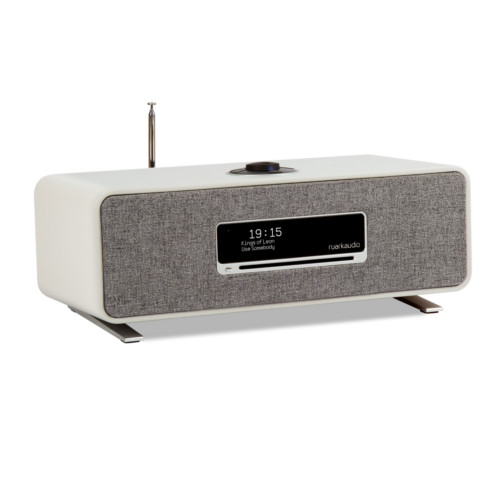 Image of R3 Compact Music System CD, DAB, Internet Radio - Soft Grey