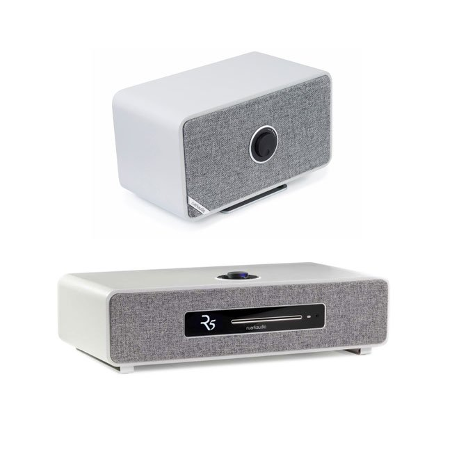 Ruark R5 High Fidelity Music System and MRx Wireless Speaker Grey