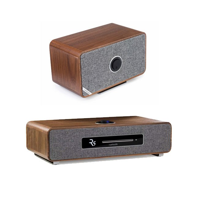 Ruark R5 High Fidelity Music System and MRx Wireless Speaker Walnut