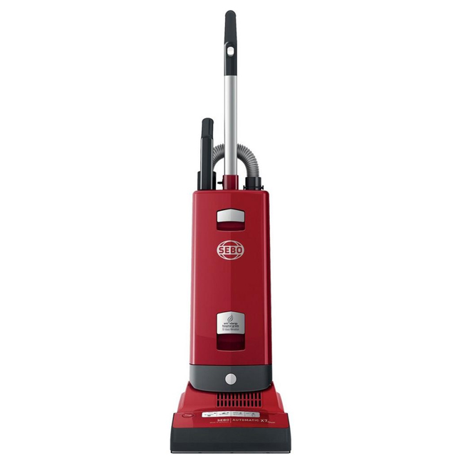 SEBO 91503GB Automatic X7 Red ePower Upright Vacuum Cleaner with Free 5 Year Guarantee