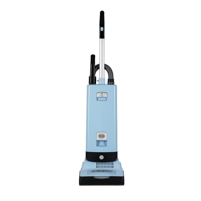 SEBO 91546GB Automatic X7 Pastel Blue ePower Upright Vacuum Cleaner with Free 5 Year Guarantee