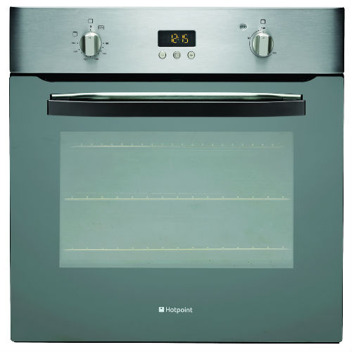 Hotpoint SHS33XS 60cm Wide Electric Oven in Stainless Steel