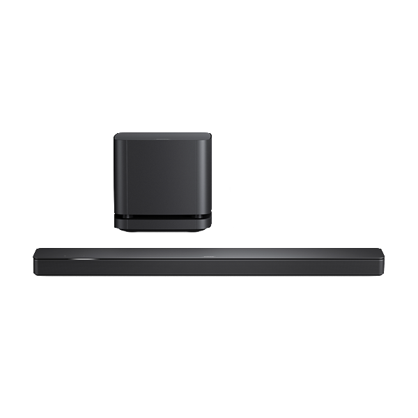 Bose Soundbar 500 with Bass Module 500 Subwoofer in Black