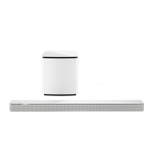 Bose Soundbar 700 with Bass Module 700 Subwoofer in White
