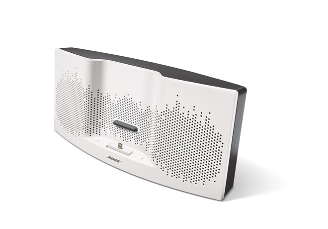 Bose® SoundDock® XT Speaker in White and Grey