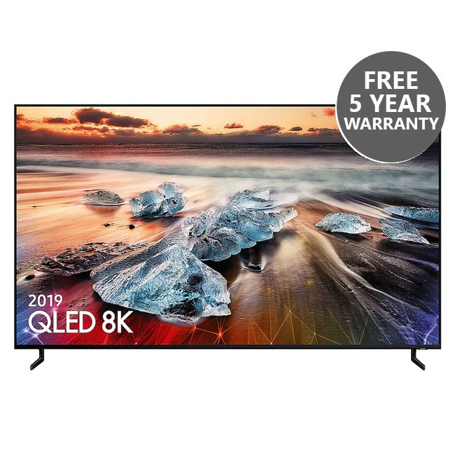 Samsung QE75Q950RBTXXU 75 Inch Q950RB QLED 8K HDR Smart TV with Bixby
