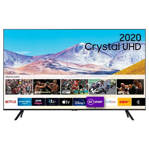 Samsung UE43TU8000KXXU 43 Inch 4K LED Smart TV 2020 Model