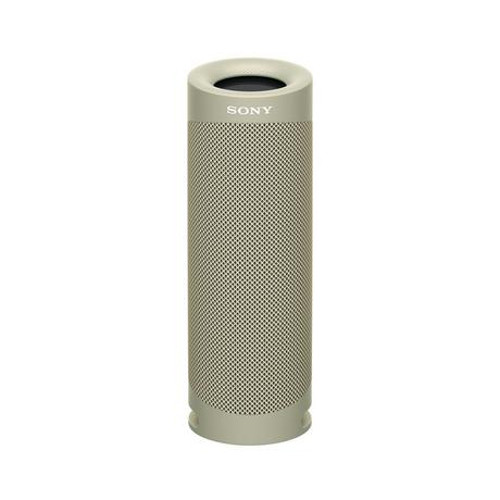 Image of Sony SRSXB23CCE7 Wireless Bluetooth Portable Speaker Taupe