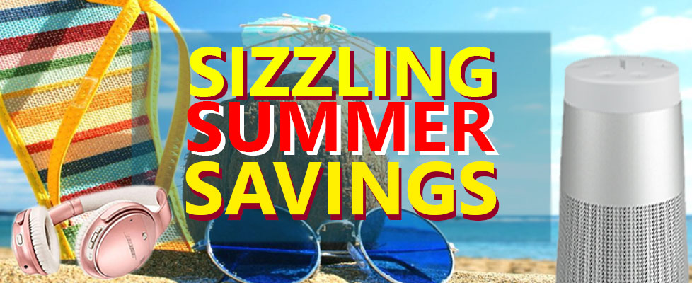 Sizzling Summer Savings Sale