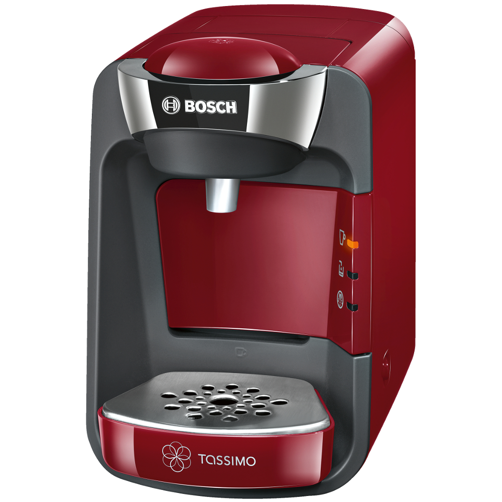 Bosch TAS3203GB Tassimo Suny Coffee Machine in Red