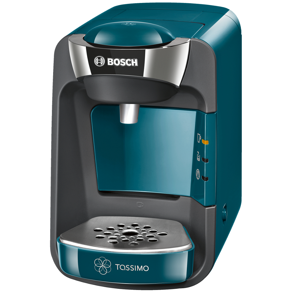 Bosch TAS3205GB Tassimo Suny Coffee Machine in Pacific Blue
