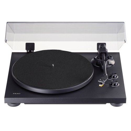 TEAC TN-280BT 2-speed Analog Turntable with Phono EQ and Bluetooth In Black