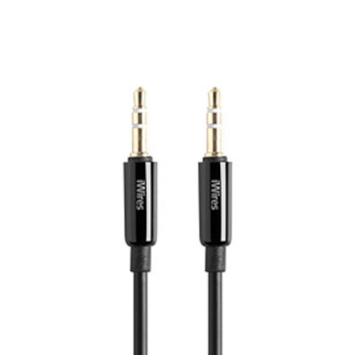 Techlink 710026 iWires Premium 3.5mm to 3.5mm Aux Input Stereo Cable 1.5m