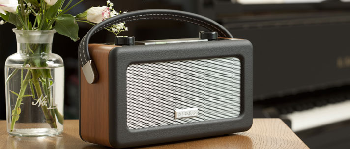 Image of Roberts radio Vintage DAB/FM RDS digital radio with built in battery charger